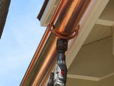 Copper Gutter Installation In Shelton Trumbull Newtown
